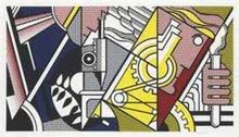 Roy LICHTENSTEIN (1923-1997) - Peace Through Chemistry II