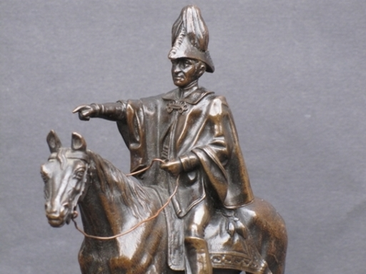 Matthew Cotes WYATT - Escultura - Iron Duke.Wellington Monument