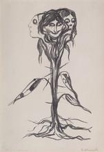 """Edvard MUNCH (1863-1944) - """"Vignett: Amaryllis"""" / """"Vignette: Amaryllis"""""""