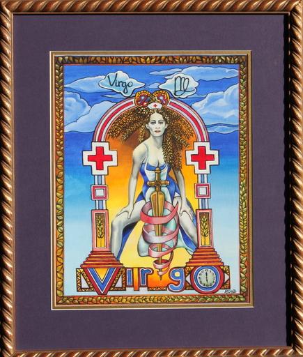 Adrienne SEED - Painting - Vierge - Signe du Zodiaque