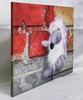 "Nataliya BAGATSKAYA - Pittura - hyperrealistic toy rat painting ""Just Losted..."""