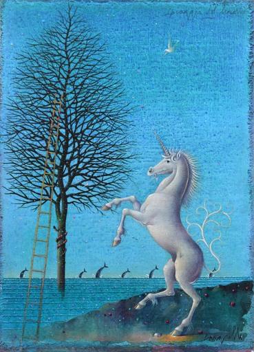 Claudio CARGIOLLI - Gemälde - Spiaggia del Liocorno