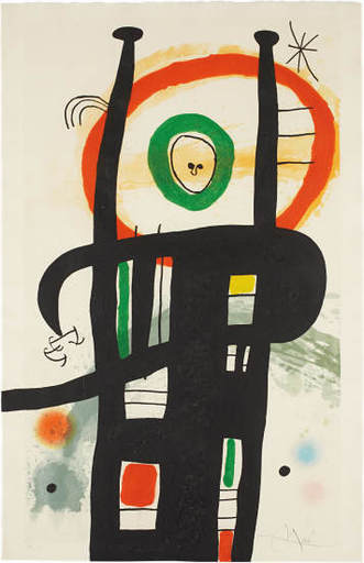 Joan MIRO - Stampa Multiplo - LE GRAND ORDINATEUR