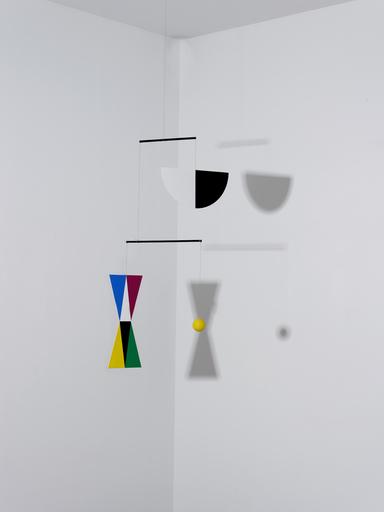 Bruno MUNARI - Sculpture-Volume - Macchina inutile (Max Bill)