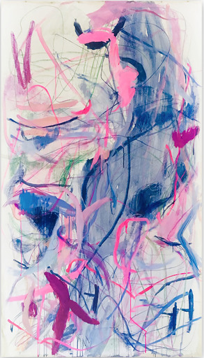 Macha POYNDER - Painting - Once in the future we truly see what happened (Abstract Expr