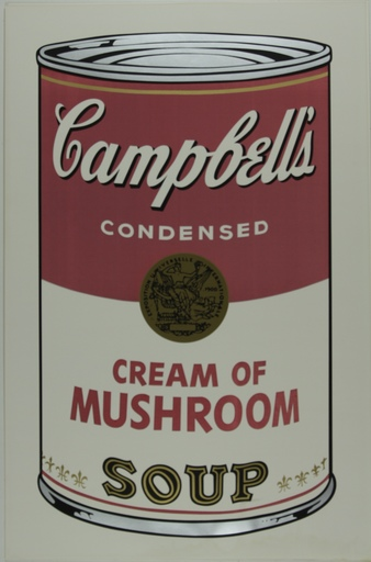 Andy WARHOL - Print-Multiple - Campbell's Soup I, Cream of Mushroom F&S II.53