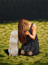 Erlend STEINER LOVISA - Painting - Cheyenne    (Cat N° 4024)