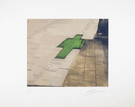 Luc TUYMANS - Estampe-Multiple - Untitled (Hommage aan Jan Hoet)