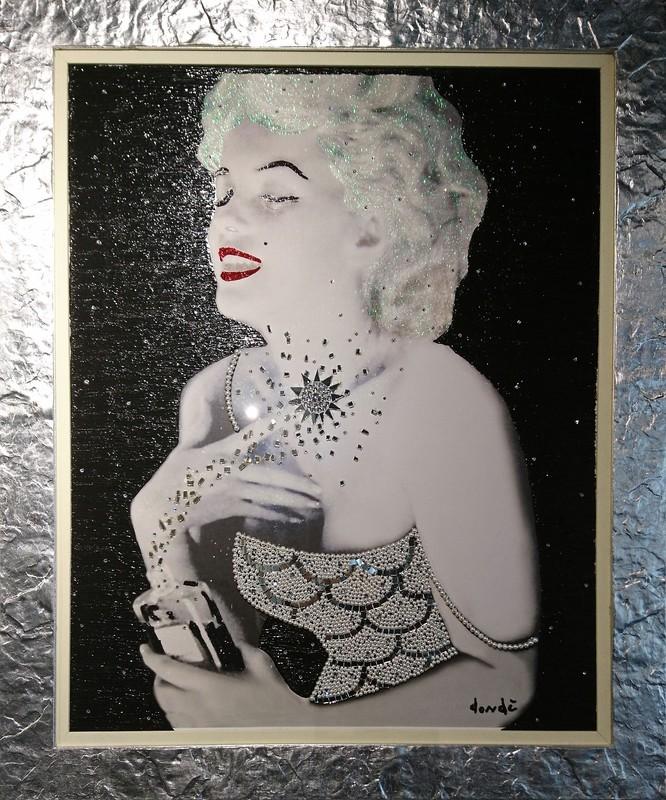 Daniele DONDE - Painting - Marilyn Monroe