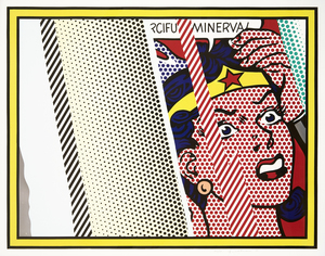 Roy LICHTENSTEIN, Reflections on Minerva