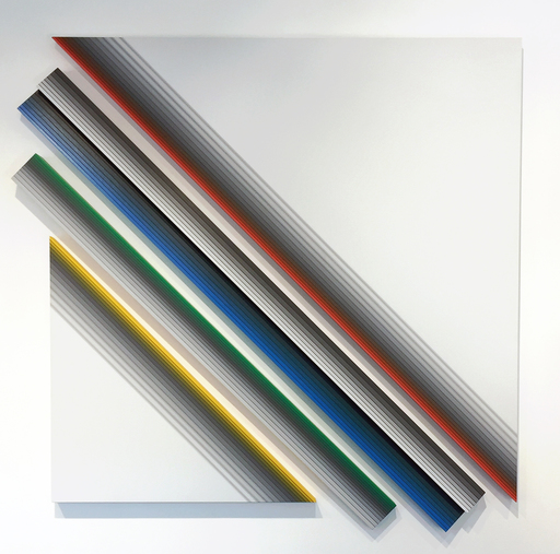 Dario PEREZ FLORES - Painting - Dynamique Chromatique B51