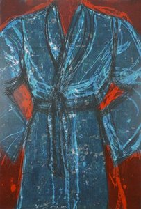 Jim DINE, Blue Vienna