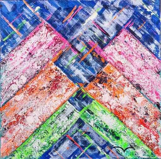 Marie-Anne DECAMP - Pittura - California II