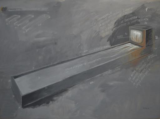 Fabrizio PLESSI - Pintura - Reflecting water