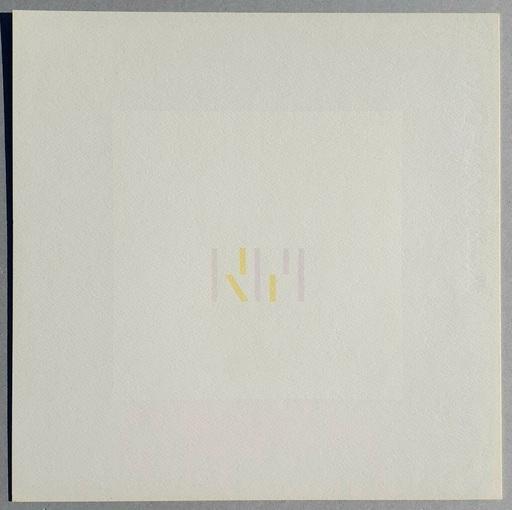 Antonio CALDERARA - Print-Multiple - Composizione ritmata