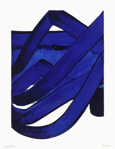 Pierre SOULAGES - Estampe-Multiple - Sérigraphie n°18