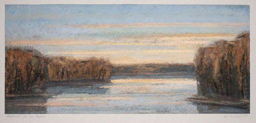Ulrich EISENFELD - Drawing-Watercolor - Märkischer See