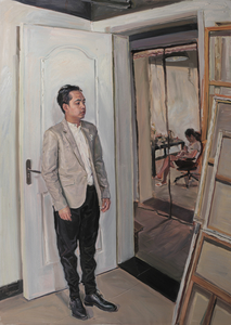Yu SU - Painting - When the Little Painter Became a Father