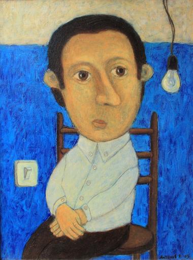 Roman ANTONOV - Painting - Portrait