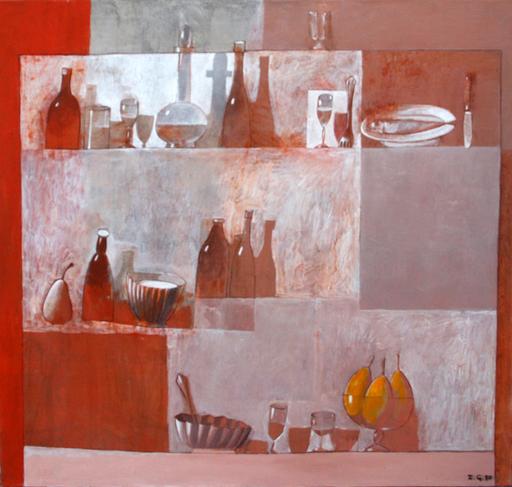 Zurab GIKASHVILI - Peinture - Still life