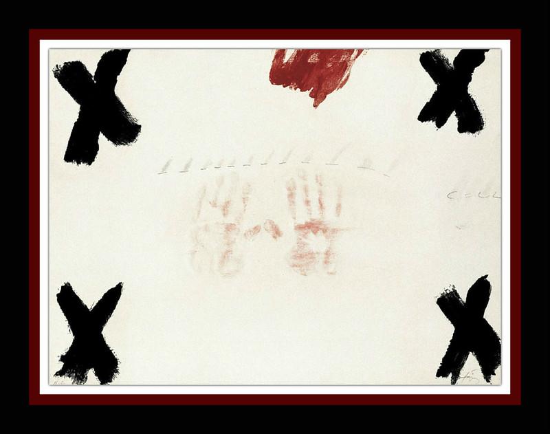 Antoni TAPIES - Print-Multiple - DUES MANS