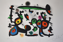 Joan MIRO - Estampe-Multiple - Lovers and Luna Park I, from: Allegro Vivace