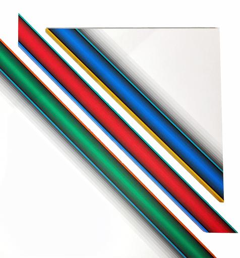 Dario PEREZ FLORES - Painting - Dynamique Chromatique 568
