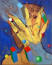Edgar TEZAK-NEOGY - Pintura - Animal Man I