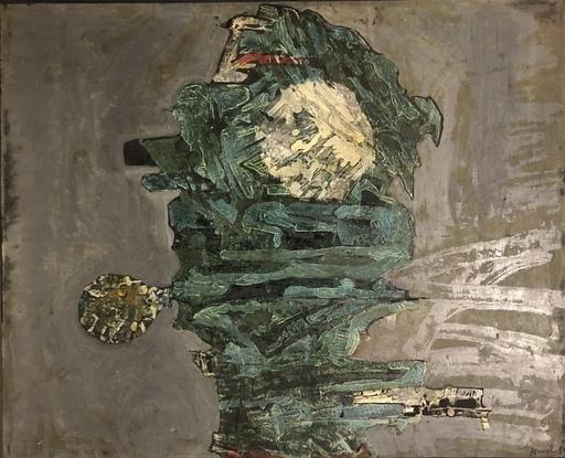 François ARNAL - Pittura - L'enfant bleu