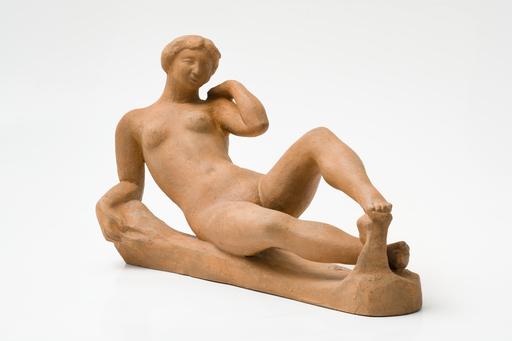 Aristide MAILLOL - Sculpture-Volume - Jeune Fille Couchée