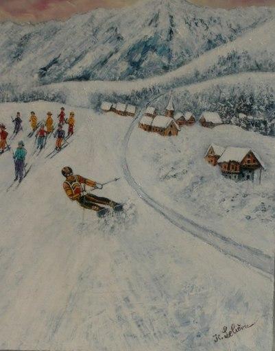 Jean-Claude LELIEVRE - Peinture - méribel2012