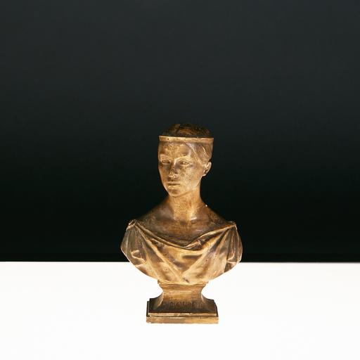 Jean-Pierre le Jeune DANTAN - Sculpture-Volume - Jean Pierre Dantan dit Dantan Jeune (1800-1869), Rachel, XIX