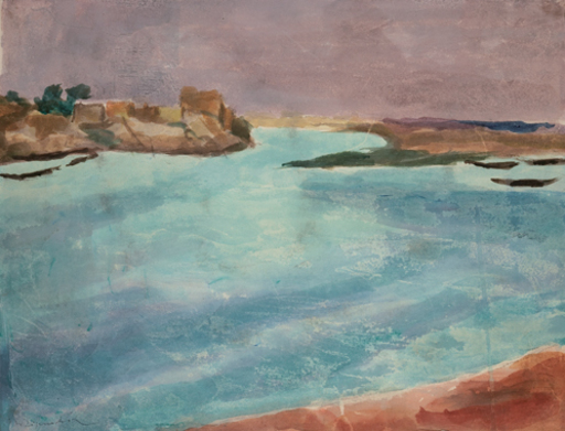 Willy EISENSCHITZ - Drawing-Watercolor - Languedoc