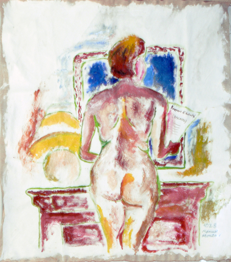 Manuel MONTERO - Peinture - Rapport d'activité