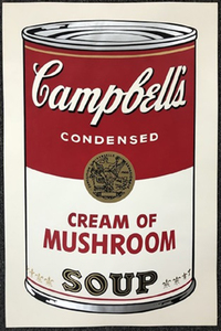 Andy WARHOL - Stampa-Multiplo - Campbell's soup I: Cream of Mushroom