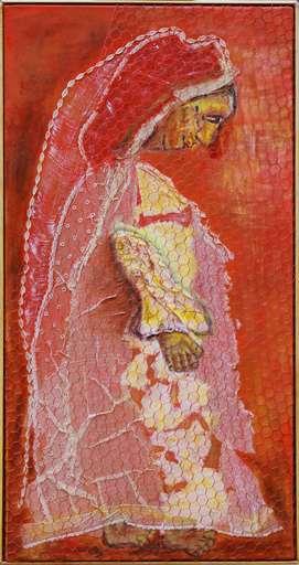 Jacotte SIBRE - Peinture - La mariée