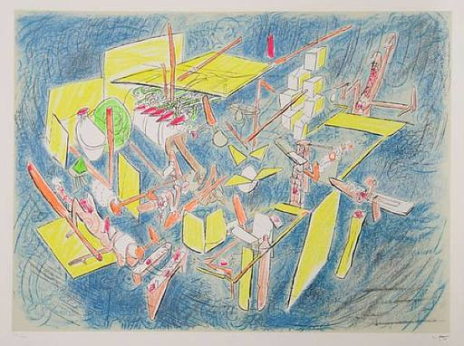 Roberto MATTA - Estampe-Multiple - Octravi