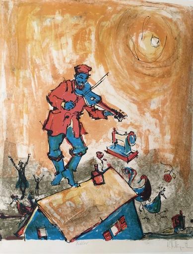 Alvin Carl HOLLINGSWORTH - Print-Multiple - Fiddler