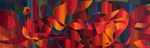 Michel TOURLIERE - Tapestry - Vie ou pierre de sang