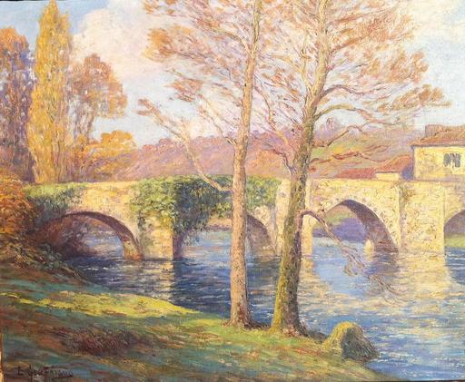 Emile GAUFFRIAUD - Pintura - Paysage