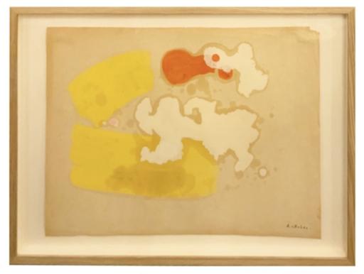 Albert CHUBAC - Disegno Acquarello - 247 Z