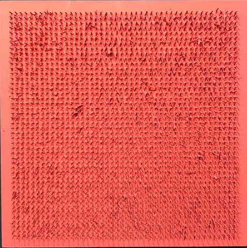 Bernard AUBERTIN - Painting - Tableu Clous