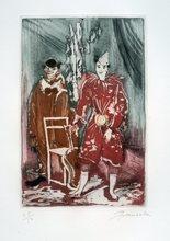 Emilio GRAU-SALA - Print-Multiple - GRAVURE SIGNÉE CRAYON NUM/50 HANDSIGNED NUMB ETCHING CIRQUE