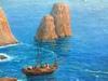 Giuseppe CASCIARO - Pintura - Faraglioni di Capri