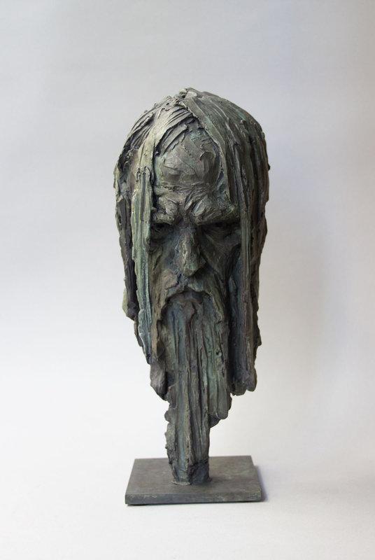 Christophe CHARBONNEL - Sculpture-Volume - Masque de Poseidon