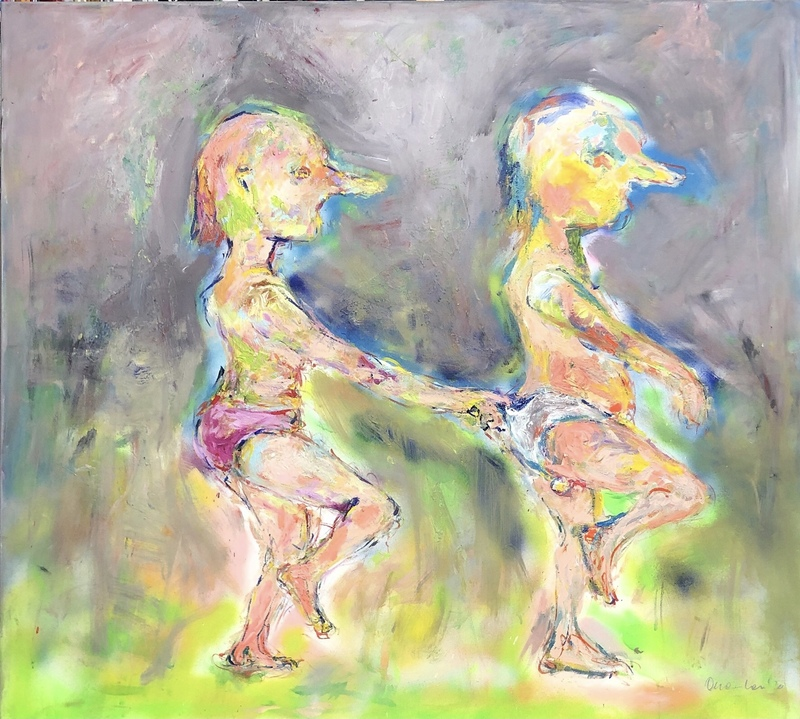 Nicole LEIDENFROST - Gemälde - Waldkobolde