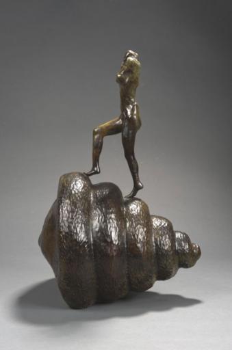 Salvador DALI - Sculpture-Volume - Nu Montant L'escalier