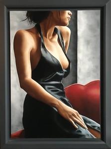 Annick BOUVATTIER - Painting - Une femme est une femme
