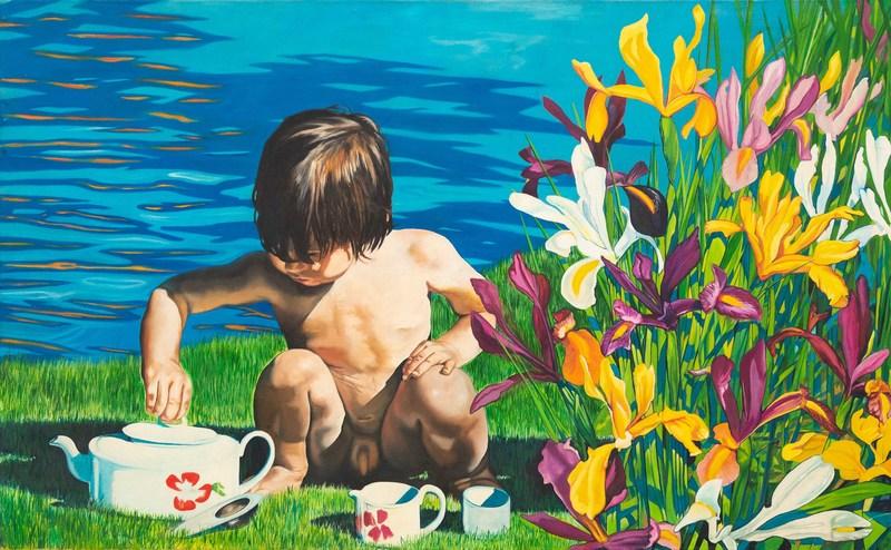 Kevin WHITNEY - Gemälde - Child