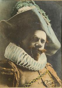 Leopold POIRE - Photography - COQUELIN AINE DANS LE ROLE DE CYRANO DE BERGERAC